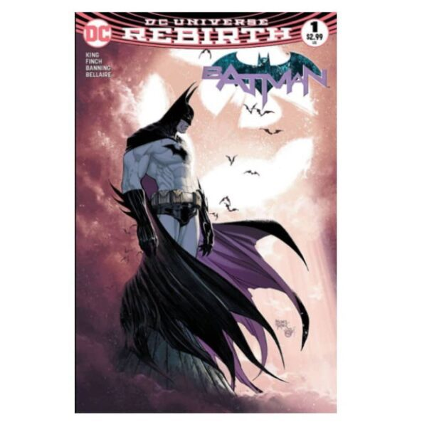 Batman 1 Michael Turner 2nd Print variant 2 1