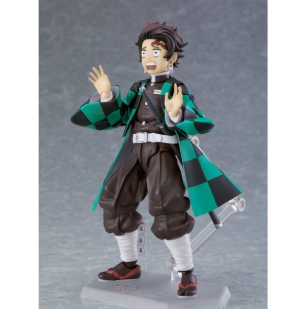 Demon Slayer Tanjiro Kamado Figma Action Figure Deluxe Version 2