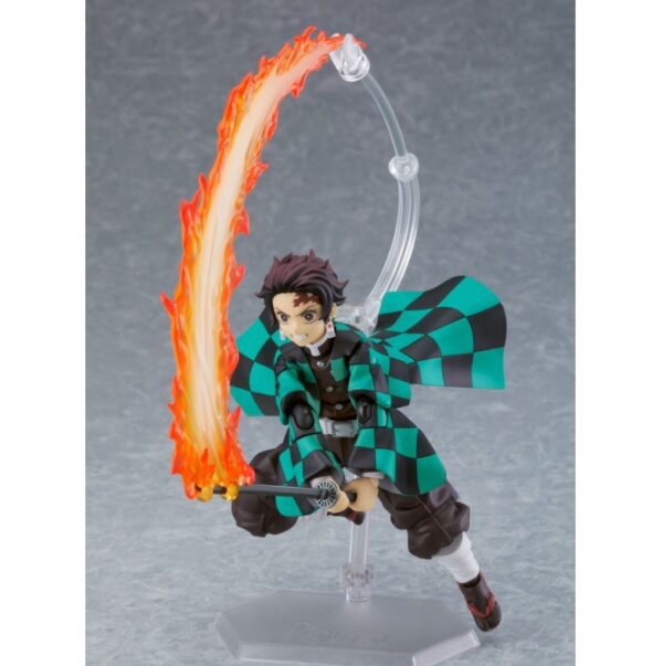 Demon Slayer Tanjiro Kamado Figma Action Figure Deluxe Version 3