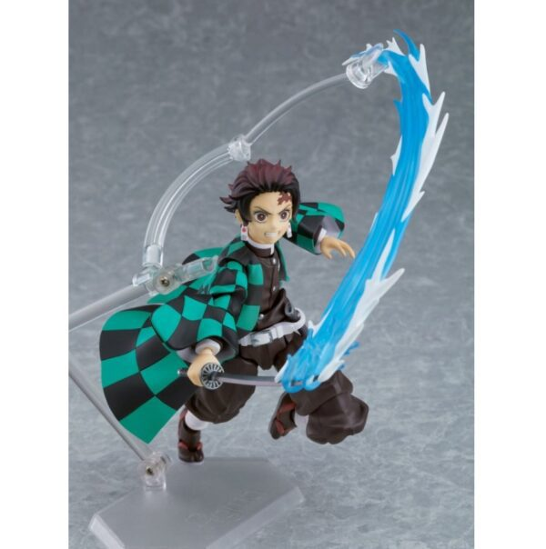 Demon Slayer Tanjiro Kamado Figma Action Figure Deluxe Version 4