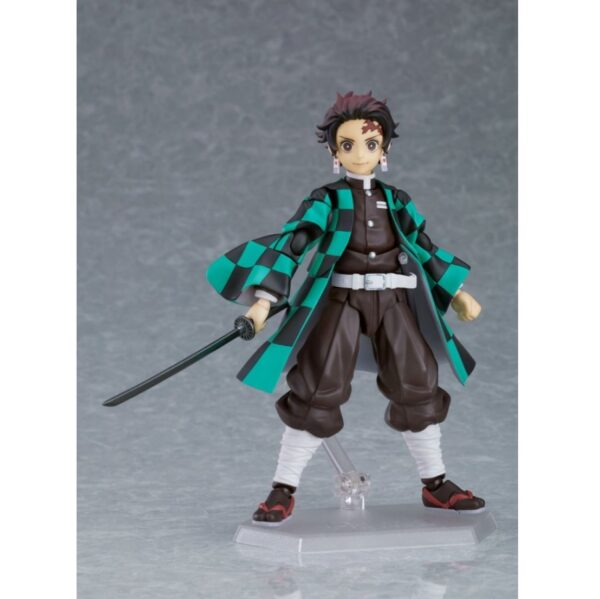 Demon Slayer Tanjiro Kamado Figma Action Figure Deluxe Version 6