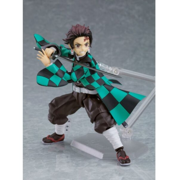 Demon Slayer Tanjiro Kamado Figma Action Figure Deluxe Version 7