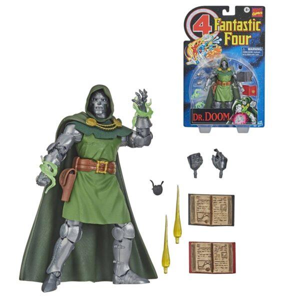 Fantastic Four Vintage Dr Doom Variant Action Figure 1