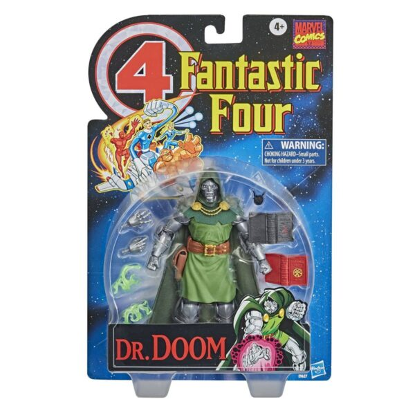 Fantastic Four Vintage Dr Doom Variant Action Figure 2