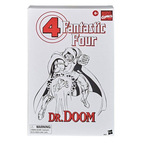 Fantastic Four Vintage Dr Doom Variant Action Figure 4