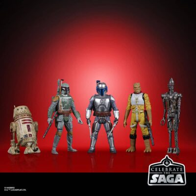 Saga Bounty Hunters Action Figure