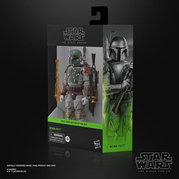 Star Wars The Black Series Boba Fett Deluxe 6 Inch Action Figure 5