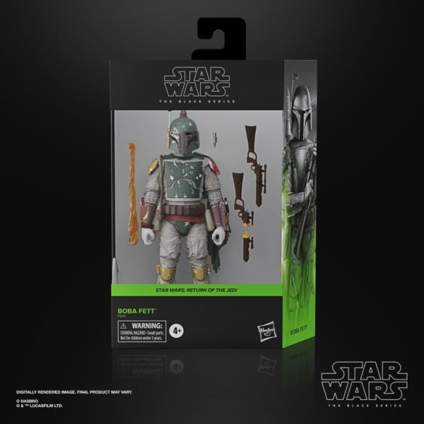 Star Wars The Black Series Boba Fett Deluxe 6 Inch Action Figure 6