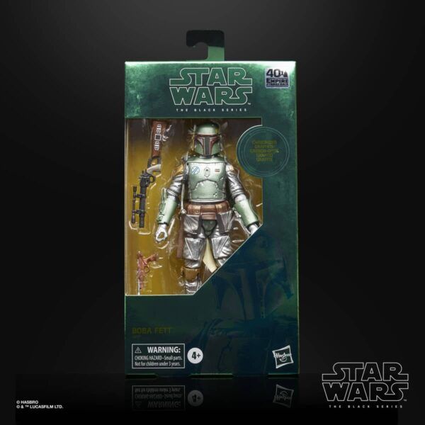 Star Wars The Black Series Carbonized Boba Fett Action Figure 2