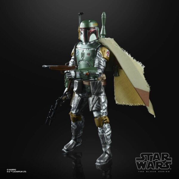 Star Wars The Black Series Carbonized Boba Fett Action Figure 4