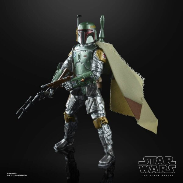 Star Wars The Black Series Carbonized Boba Fett Action Figure 5