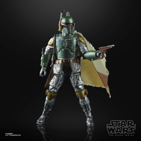 Carbonized Boba Fett Action Figure