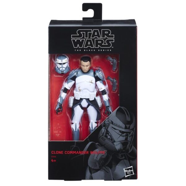 Star Wars The Black Series Clone Commander Wolffe 1