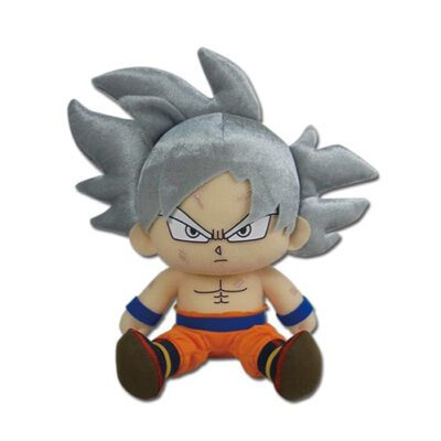 Goku Ultra Instinct Sitting Plush