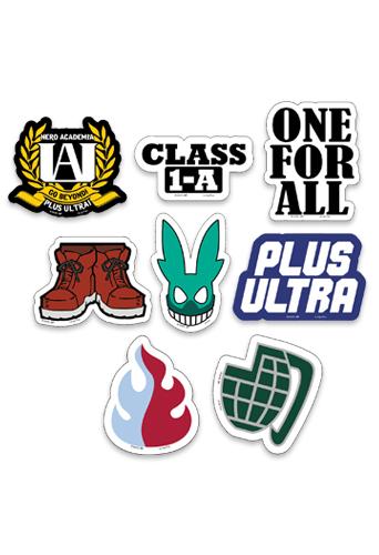 My Hero Academia symbols stickers
