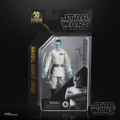Star Wars The Black Series Archive Grand Admiral Thrawn Action Figure 4