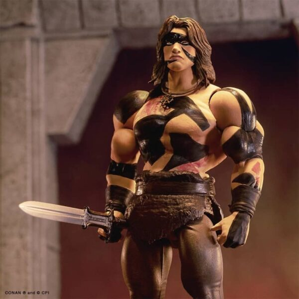 War Paint Conan Action Figure