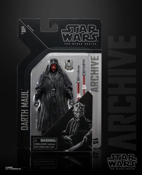 Star Wars The Black Series Darth Maul Archive Collection