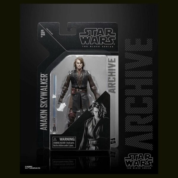 Star Wars The Black Series ROTS Anakin Skywalker Archive Collection