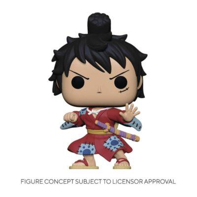 One Piece Luffy Kimono Funko