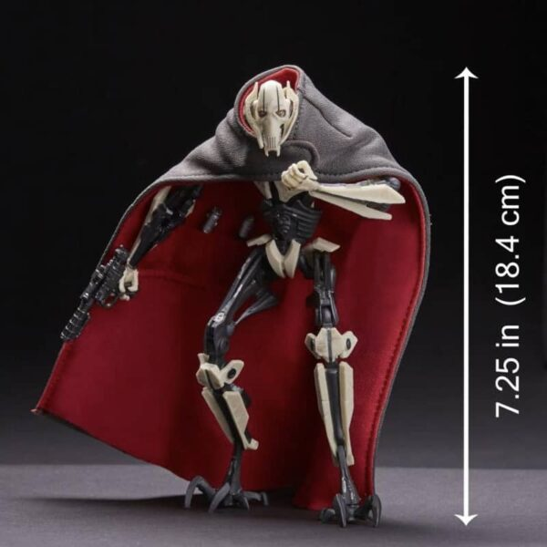 Star Wars The Black Series General Grievous Action Figure 4
