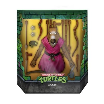 Splinter action figure