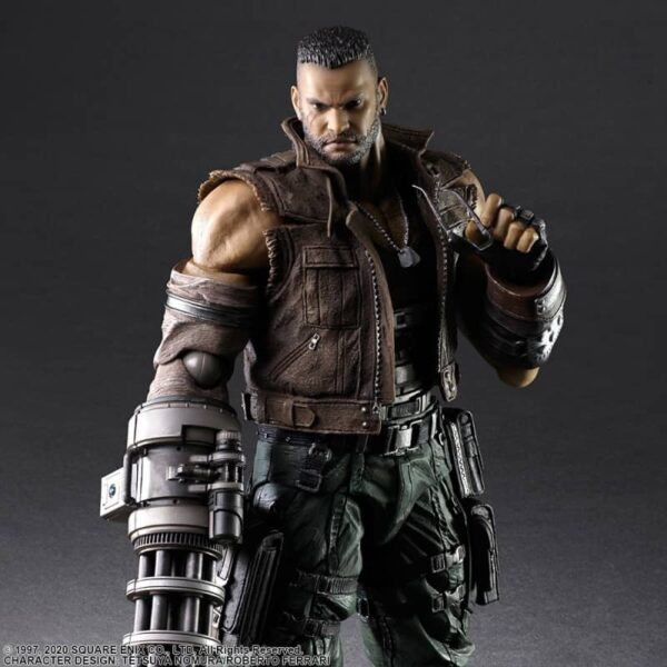 Barret Wallace action figure