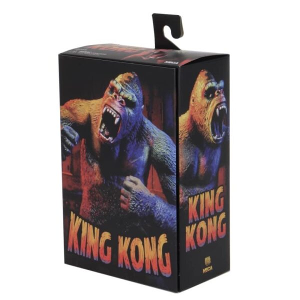 King Kong Illustrated Version Ultimate Action Figure 8