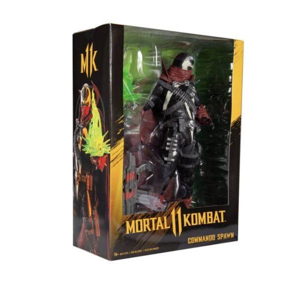 Mortal Kombat Commando Spawn 12 inch Deluxe Figure 8