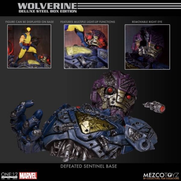 Wolverine Deluxe Steel Box Edition One 12 Collective 21
