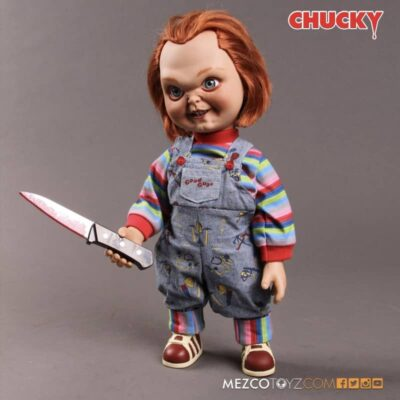 Child's Play Chucky Sneering Talking Doll
