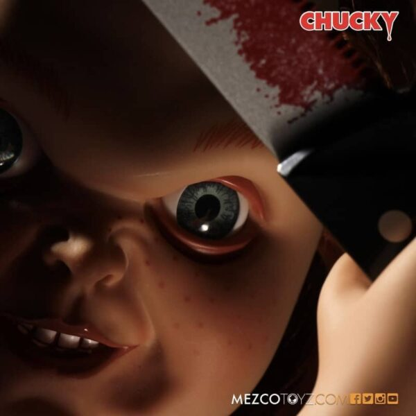 Childs Play Chucky Sneering Talking Doll 6