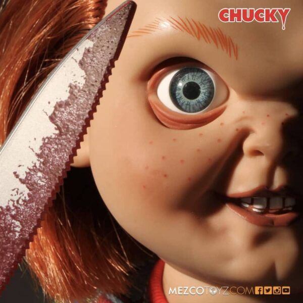 Childs Play Chucky Sneering Talking Doll 7