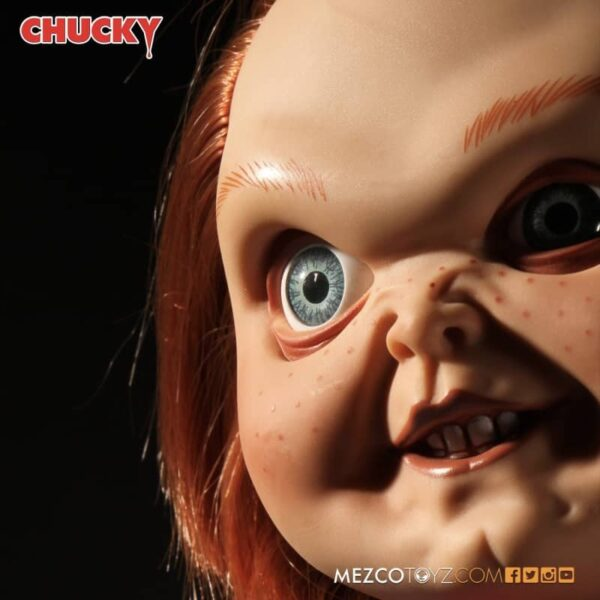 Childs Play Chucky Sneering Talking Doll 8