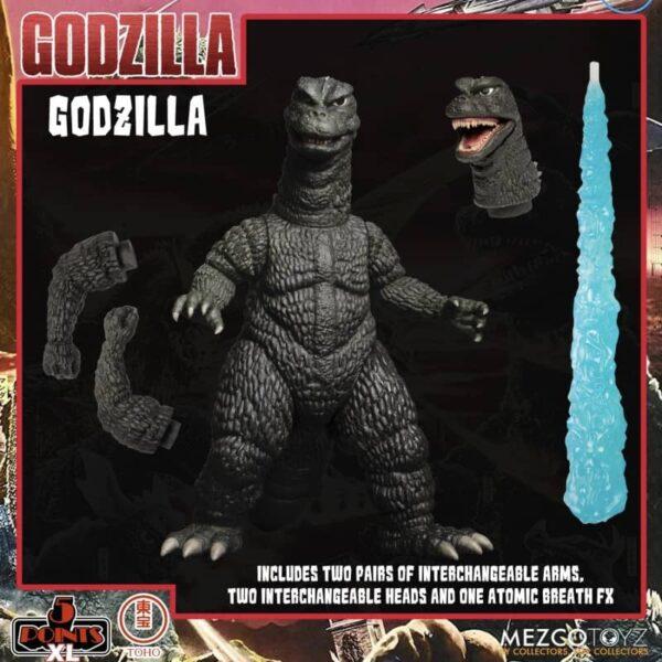 Godzilla Destroy All Monsters 1968 5 Points Round 1 Box Set 6