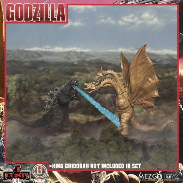Godzilla Destroy All Monsters 1968 5 Points Round 1 Box Set 7