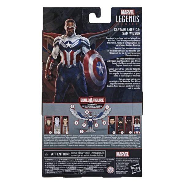 Marvel Legends Captain America Sam Wilson 3