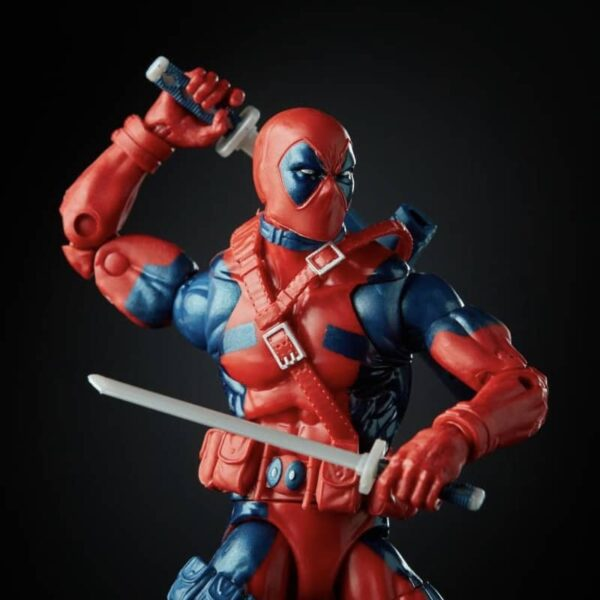 Marvel Legends Retro Deadpool Action Figure 80th anniversary 3