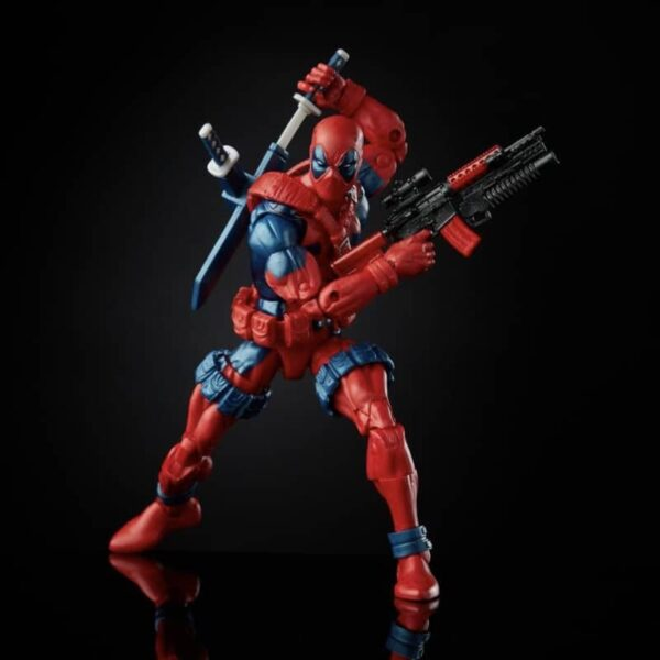 Marvel Legends Retro Deadpool Action Figure