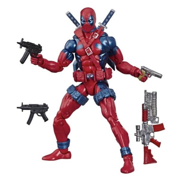 Marvel Legends Retro Deadpool Action Figure 80th anniversary 7