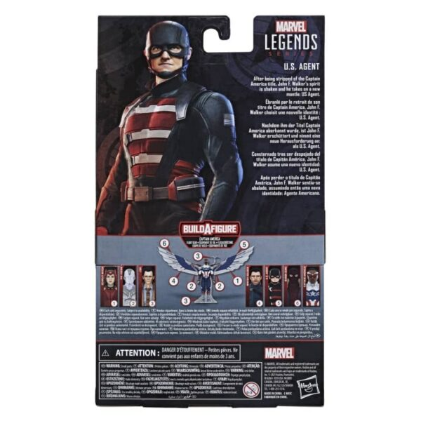 Marvel Legends US Agent Action Figure 4