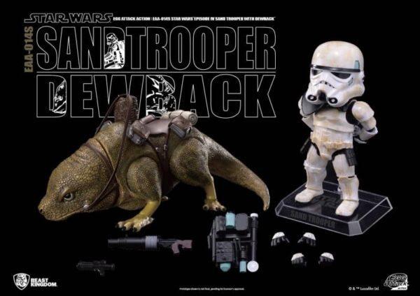 Dewback and sandtrooper