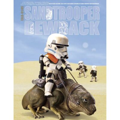 Star Wars Dewback & Sandtrooper
