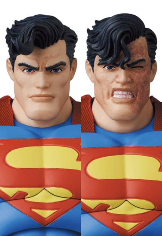 The Dark Knight Returns Superman Mafex 4