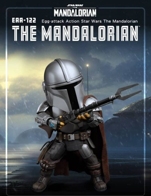 The mandalorian action figure