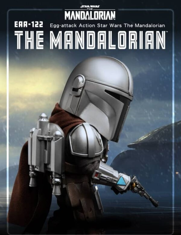 The Mandalorian Star Wars EAA 122 Egg Attack 5