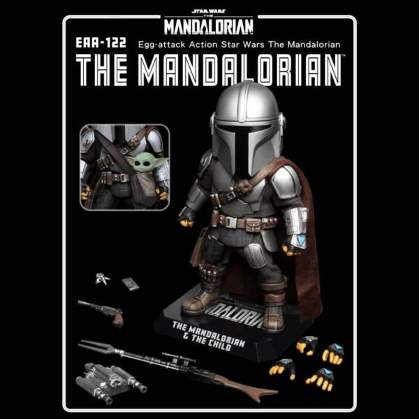 The Mandalorian Star Wars EAA-122 Egg Attack