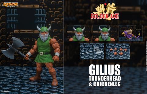 Golden Axe Gilius Thunderhead Chicken Leg Action Figure 11
