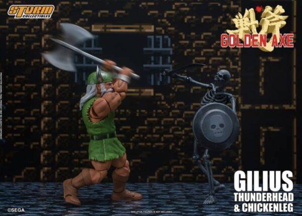 Golden Axe Gilius Thunderhead Chicken Leg Action Figure 2