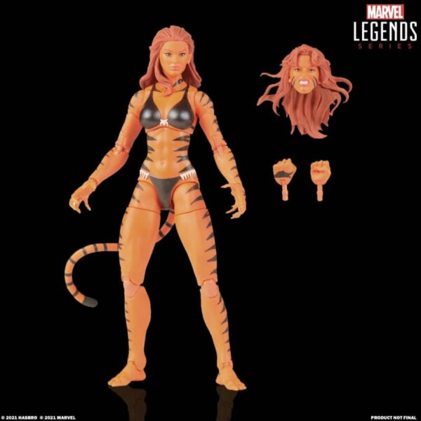 Marvel Legends Tigra Retro 3